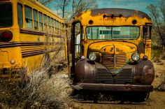 dodge school bus by Sam Scholes on 500px