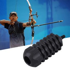 Hunting Arrows Archery Stabilize Compound Bow Stabilizer Rubber Accessories