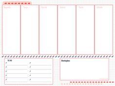 Download: planner semanal                                                                                                                                                                                 Mais 2017 Planner, Free Planner, Printable Planner, Printable Stickers, Planner Stickers, Bujo, Download Planner, Bullet Journal 2, Journaling