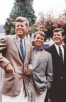 Jack, Bobby and Teddy Kennedy