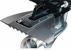 Spoiler for outboard and inboard motors 300