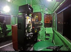 In cab picture of the EMD GT22 CW #A903 (La Grange, IL 1972) ex FA #9035 awaitng to depart from Villa Elisa station to Plaza Constitucion terminal.