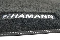 Fußmatten bestickt mit dem HAMANN Logo Continental Wallet, Card Holder, Logo, Interior, Price List, Logos, Indoor, Interiors