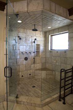 Kahn Residence - mediterranean - bathroom - orange county - James Glover Residential & Interior Design