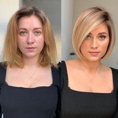 Short Haircuts Over 50, One Length Haircuts, Great Haircuts, Round Face Haircuts, Haircuts For Fine Hair, Trendy Haircuts, Bob Hairstyles, Thin Hair Cuts, Medium Hair Cuts