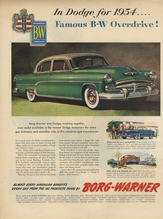 Chrysler Dodge & Borg-Warner