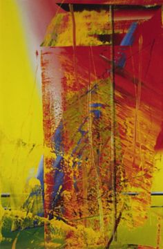 Gerhard Richter Abstract   image not avaialable