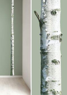 Wandtattoos mit lebensechten Bäumen