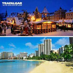 Winter wonderland or escape to warm weather? Tell us your ideal holiday travel destination. barretttravel.globaltravel.com pamelabarrett22@gmail.com