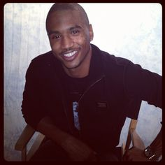 <3 Trey Songz! He came in to preview songs from his new album, Chapter V.