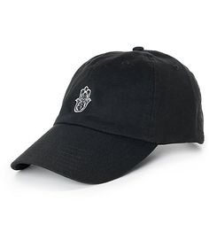 cba49b865f9 Be able to have the Hamsa hand on your hat to help watch over your day