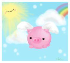 when pigs fly by amidot.deviantart.com on @DeviantArt