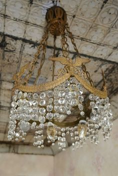 Fiona and Twig: Magnolia Pearl Ranch for Sale - chandelier Antique Chandelier, Chandeliers, Chandelier Lighting, Square Chandelier, Magnolia Pearl, Magnolia House, Luis Xiv, Ranches For Sale, Victorian Farmhouse