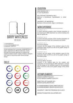 Cv Resume 28 Currículos Criativos De Designers  Pinterest  Typography Font .
