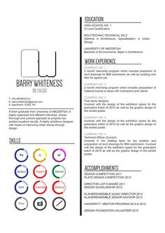 Cv Resume Stunning 28 Currículos Criativos De Designers  Pinterest  Typography Font .
