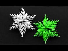 Basteln für Weihnachten: DIY Schneeflocken basteln mit Papier. Wie man mit Papier originelle Schneeflocken bzw. Stern basteln kann. Für diese Eiskristalle br...