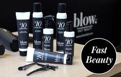 The Holy Grail Of Hair has landed!! Introducing #10MinuteBlow, our new, own-label styling range!