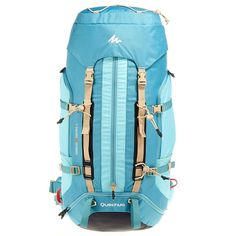 Sac A Dos For 60l Blu- Quechua Turquoise FT8J3K3fDb