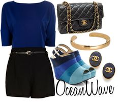 """Ocean Wave"" by ultimatequeenb on Polyvore"