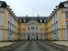 Schloss Augustusburg in Bruehl, near Cologne/Bonn, Germany