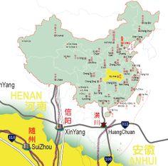 nice Hubei  Map