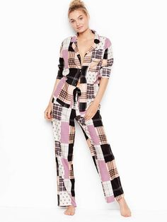 39b7d54b42bbe Victoria's Secret Victorias Secret The Flannel PJ  #Secret#Victoria#Victorias Silk Pajamas,