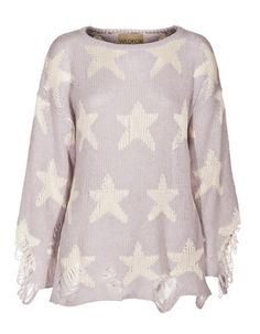 Wildfox Lennon Seeing Stars Grey Gardens Sweater - LoLoBu