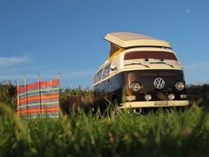 Roadtrip nach England mit dem VW Bus T2a