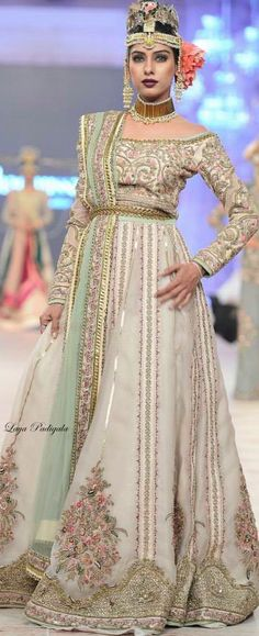 Fahad Hussayn - PFDC L'Oréal Paris Bridal Week 2014❋Laya Padigala❋