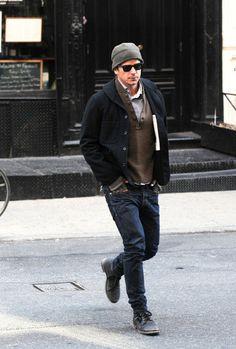 Josh Hartnett - Josh Hartnett Strolls Around SoHo