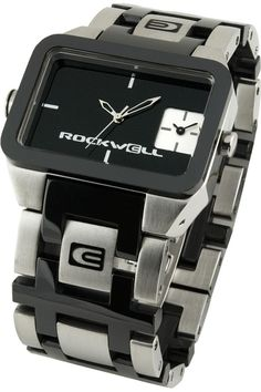 Rockwell Duel Time Watch in Black Ceramic $579