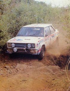 Sandro Munari - Jacques Jaubert 12th Rallye Bandama Cote d'Ivoire 1980 (FIAT 131 Abarth)