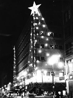 Holiday shoppers used to head to Downtown stores. Photo: Shillito's department store at Seventh and Race streets embraced the Christmas season with this display in 1960. Enquirer archive photo