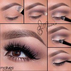Gorgeous Makeup: Tips and Tricks With Eye Makeup and Eyeshadow – Makeup Design Ideas Smokey Eye Makeup Tutorial, Eye Makeup Steps, Makeup Tips, Beauty Makeup, Makeup Art, Skin Makeup, Eyeshadow Makeup, Motives Makeup, Cheer Makeup