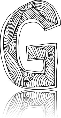Have a great time coloring up this letter G!