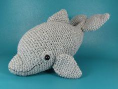 Dolphin - PDF amigurumi crochet pattern. $4,00, via Etsy.