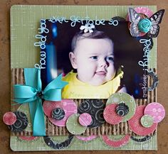 A Project by Leslie Ashe from our Scrapbooking Gallery originally submitted 10/06/11 at 03:57 PM
