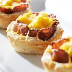 Western Turkey Bacon Breakfast Cups