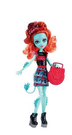 Amazon.com: Monster High Monster Exchange Program Lorna McNessie Doll: Toys & Games