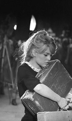 "missbrigittebardot: ""Brigitte Bardot in ""Babette goes to war"", 1959 "" Bridgitte Bardot, Jacques Charrier, European Girls, Michelle Rodriguez, Marlene Dietrich, Portraits, French Actress, Christina Hendricks, Hollywood Actresses"