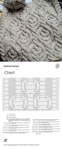 knitting by spokes Cable Knitting Patterns, Knitting Stiches, Knitting Charts, Lace Knitting, Knit Patterns, Crochet Stitches, Stitch Patterns, Knitting Needles, Crochet Chart