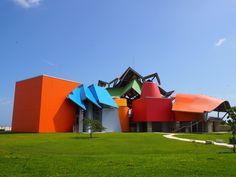 O Biomuseo, em Panamá, é o primeiro prédio de Frank Gehry na América Latina.