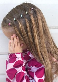 Pretty Hairstyles for School Girls Ideas Designs and Hairstyles for Children Toddler Hairstyles Girl children Designs girls Hairstyles Ideas pretty School Pretty Hairstyles For School, Girls School Hairstyles, Cute Girls Hairstyles, Hairstyles Haircuts, Hairstyle For Kids, Easy Little Girl Hairstyles, Hairstyles For Babies, Cute Hairstyles For Toddlers, Easy Toddler Hairstyles