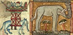 Medieval Elephants. Article about - Avorio d'ogni ragione: the supply of elephant ivory to northern Europe in the Gothic era. By Sarah M. Guérin. Journal of Medieval History, Volume 36, Issue 2 (2010)