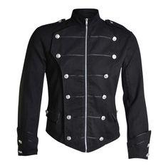 Buy Men's Fashion Steampunk Retro Jacket Gothic Coat Uniforms Pirate Viking Costume Coat Plus Size at Wish - Shopping Made Fun Cutaway, Gothic Mantel, Mode Outfits, Fashion Outfits, Gothic Fashion, Mens Fashion, Gothic Mode, Viking Costume, Army Uniform