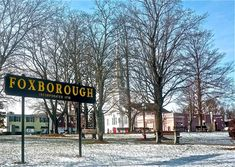 quaint little town but boasts a popular amphitheater, a little far west, but close to both norwood and newton. Foxborough Massachusetts, Massachusetts Usa, Gillette Stadium, Le Far West, New England Patriots, Rhode Island, Places Ive Been, England Christmas, Beautiful Places