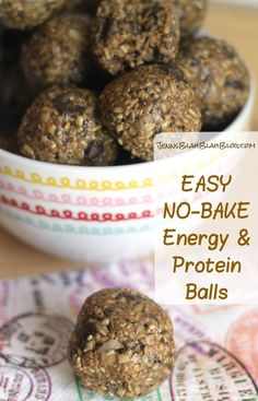 Easy No Bake Oatmeal Chocolate Peanut Butter Protein Balls Recipe