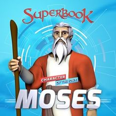 #bible #biblecharacter #moses  #biblehero #superbook Michael Watches, Animated Bible, Bible Heroes, Friend Of God, Fire And Desire, Spiritual Love, Bible For Kids, Warner Brothers, Selena Quintanilla
