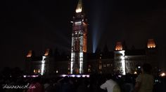 The #Canadian #Parliament building at night. A historical presentation was projected on the building with music and story telling. Amazing. #Ottawa #Ontario