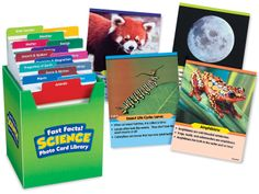 Fast Facts! Science Photo Card Library
